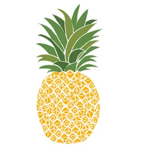 Pineapple Clipart Black And White | Clipart Panda - Free Clipart ...