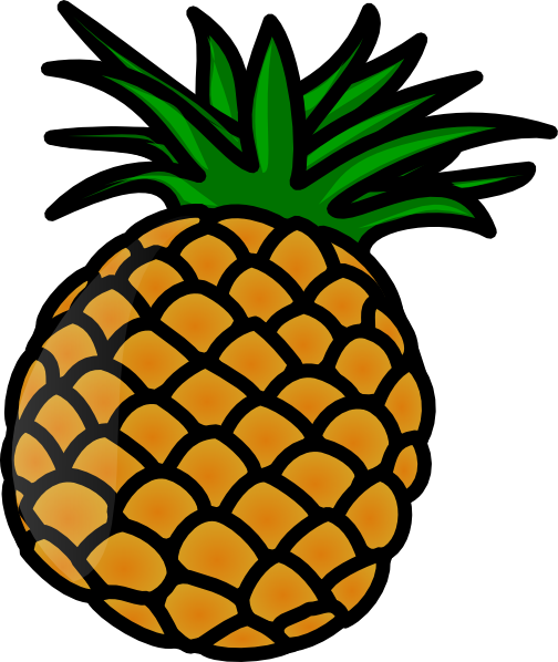 Pineapple Slice Clipart | Clipart Panda - Free Clipart Images