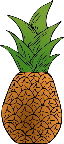 pineapple clip art free clipart panda free clipart images