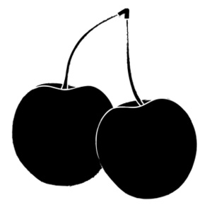 cherry clipart black and white clipart panda free clipart images