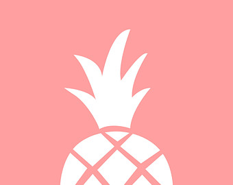 Pineapple Silhouettes, | Clipart Panda - Free Clipart Images