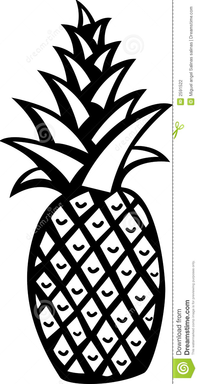 Pineapple Vector Free Download | Clipart Panda - Free ...