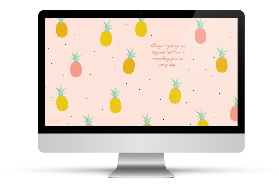 Tablet Calendar Wallpaper : Pineapple wallpaper iphone clipart panda free