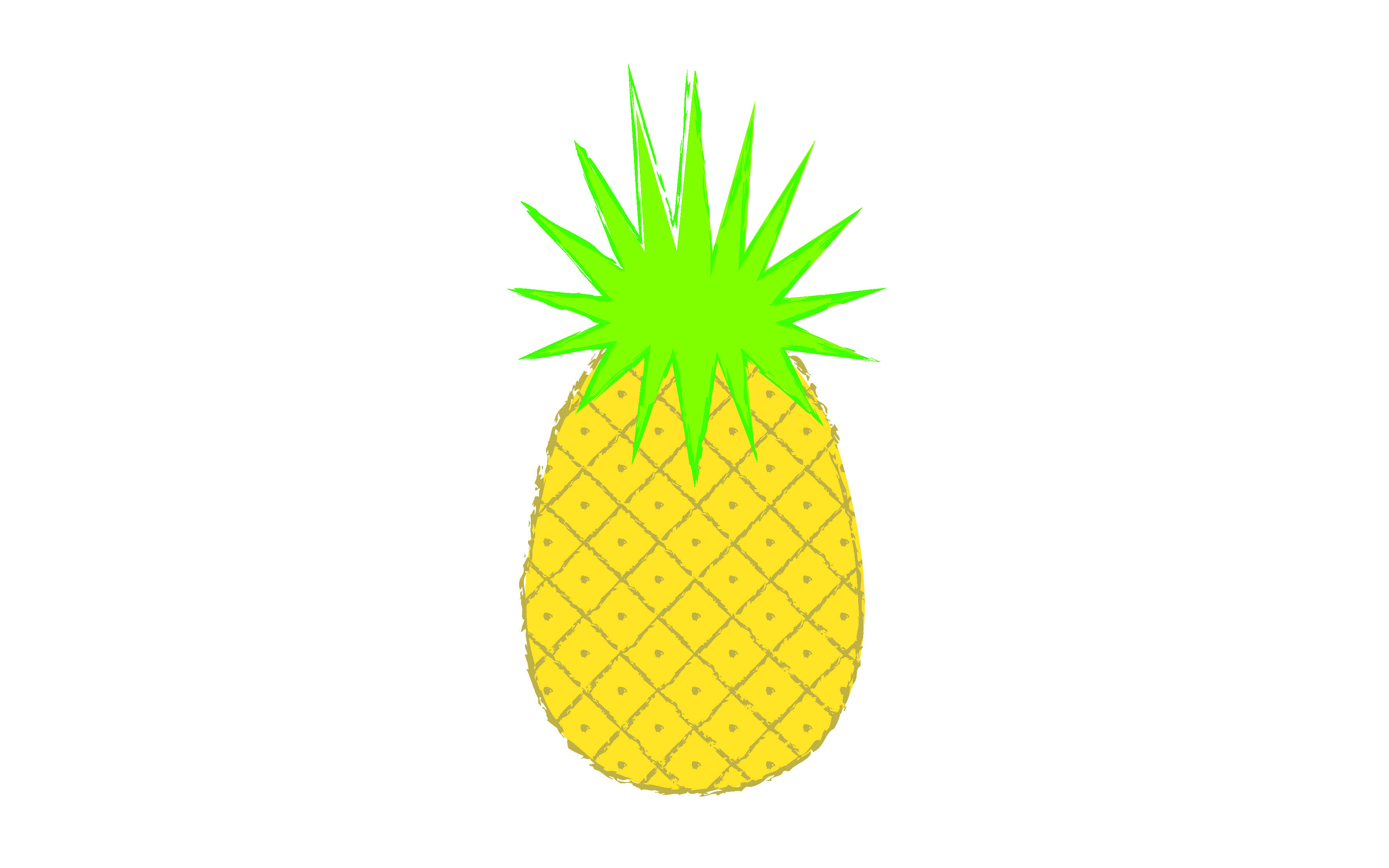 Pineapple iphone background