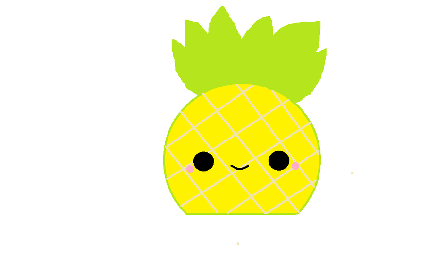 Kawaii Pineapple by | Clipart Panda - Free Clipart Images