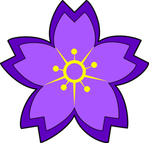 Clip Art Purple Flower Clip Art purple flower bouquet clipart panda free images