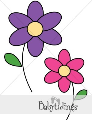 purple flower clip art clipart panda free clipart images rh clipartpanda com purple flowers clip art images purple and yellow flowers clipart