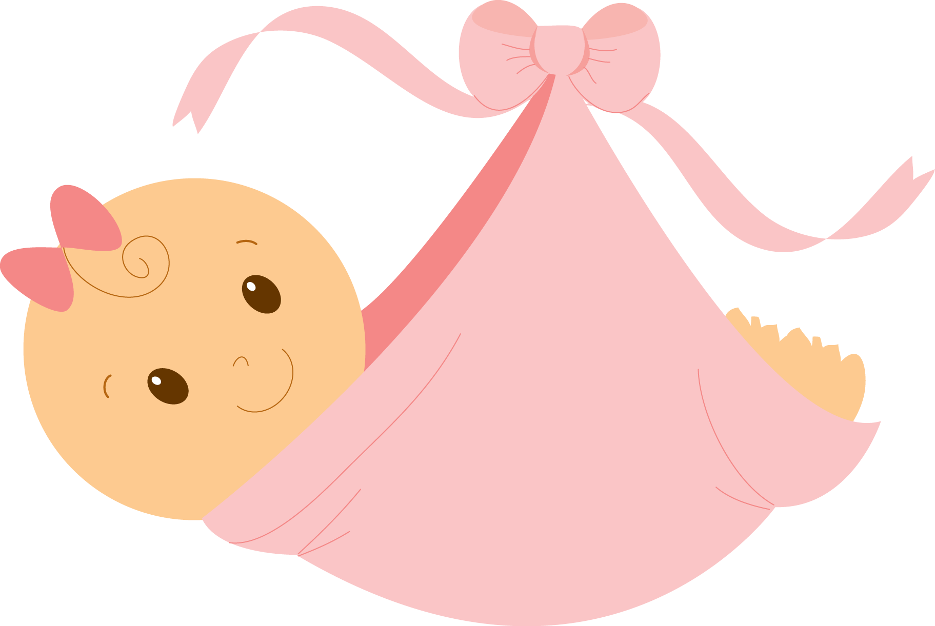 clipart of baby girl - photo #7