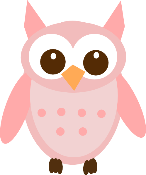 pink baby owl clipart clipart panda free clipart images Baby Girl Owl Clip Art pink and gold owl clip art