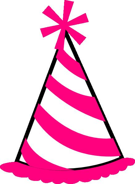 pink%20birthday%20hat%20clip%20art