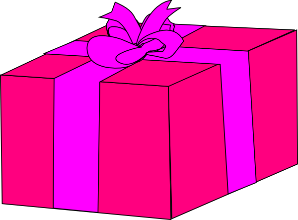 pink%20birthday%20present%20clip%20art