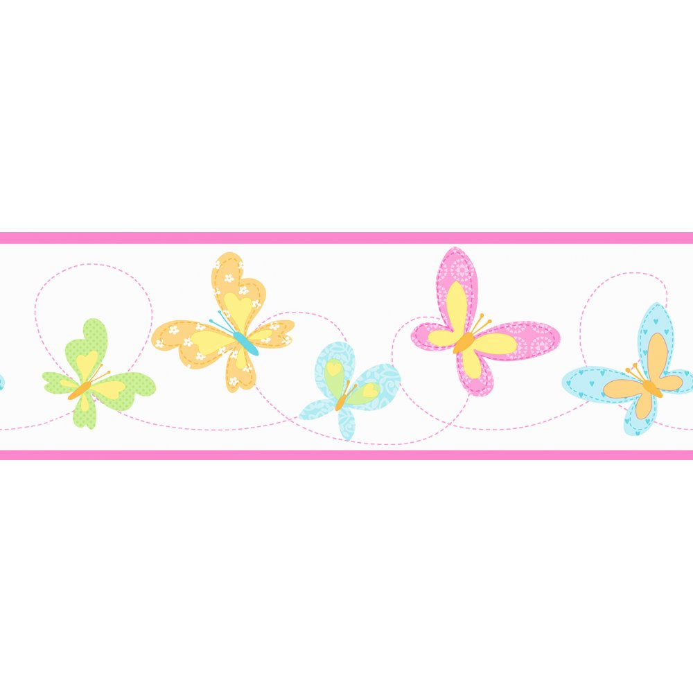 Pink butterfly border clipart panda free clipart images - Pink 20butterfly 20border