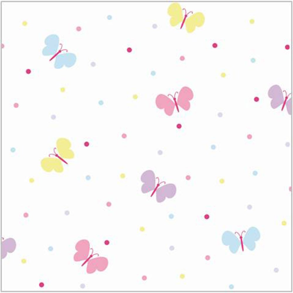 Pink butterfly border clipart panda free clipart images for Butterfly wallpaper border