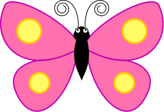 pink butterfly clipart clipart panda free clipart images rh clipartpanda com pink and black butterfly clipart pink and purple butterfly clipart
