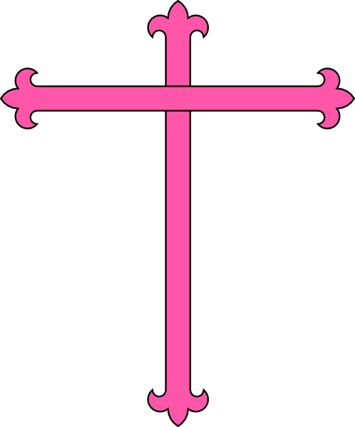 Pink Communion Cross Clip Art | Clipart Panda - Free ...