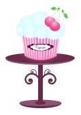 Pink Cupcakes B... Free Clipart Cupcakes