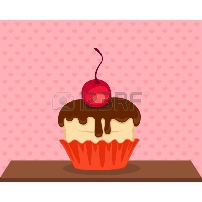 Pink Cupcakes Background | Clipart Panda - Free Clipart Images