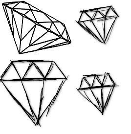 pink diamond drawing clipart panda free clipart images