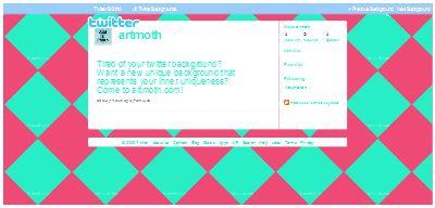 Blue Diamonds on Pink Twitter | Clipart Panda - Free ...