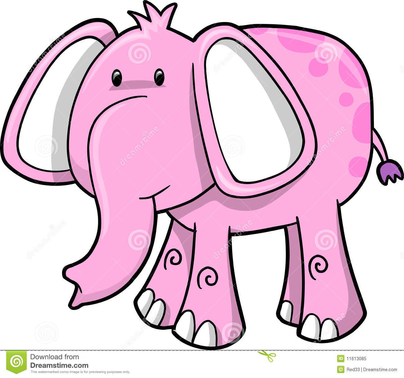 Pink Elephant Clip Art   Clipart Panda - Free Clipart Images