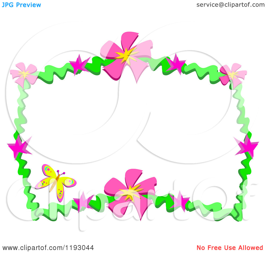 clipart flowers and butterflies border clipart panda free rh clipartpanda com butterfly border clipart black and white butterfly border clipart black and white