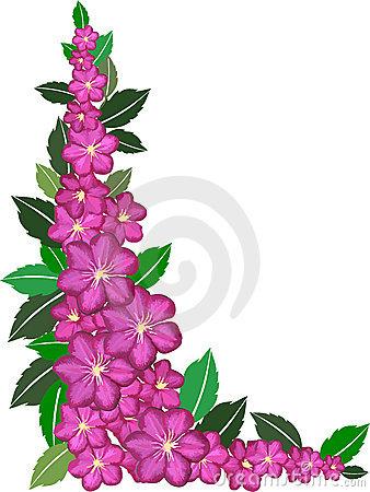Pink flower border clip art clipart panda free clipart images pink20flower20border20clip20art mightylinksfo