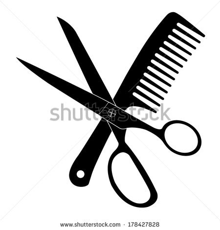 Hair Scissors And Comb Clip Art | Clipart Panda - Free Clipart Images