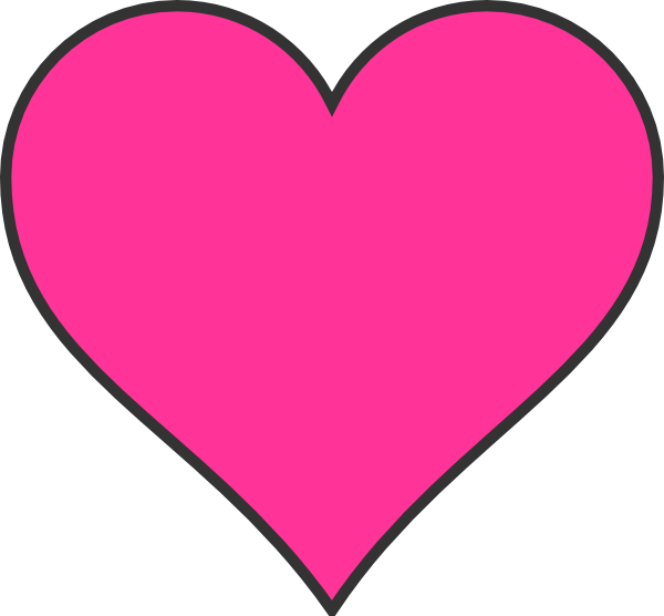 Pink Hearts Clipart | Clipart Panda - Free Clipart Images