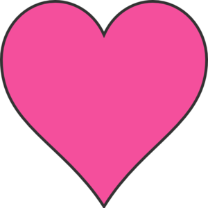 Clipart Pink Heart | Clipart Panda - Free Clipart Images