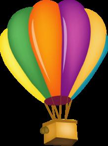 foto de Pink Hot Air Balloon Clipart Clipart Panda Free