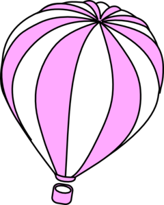 Hot Air Balloon Drawing Template | Clipart Panda - Free Clipart Images