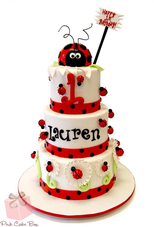 Ladybug 1st Birthday Cake | Clipart Panda - Free Clipart Images