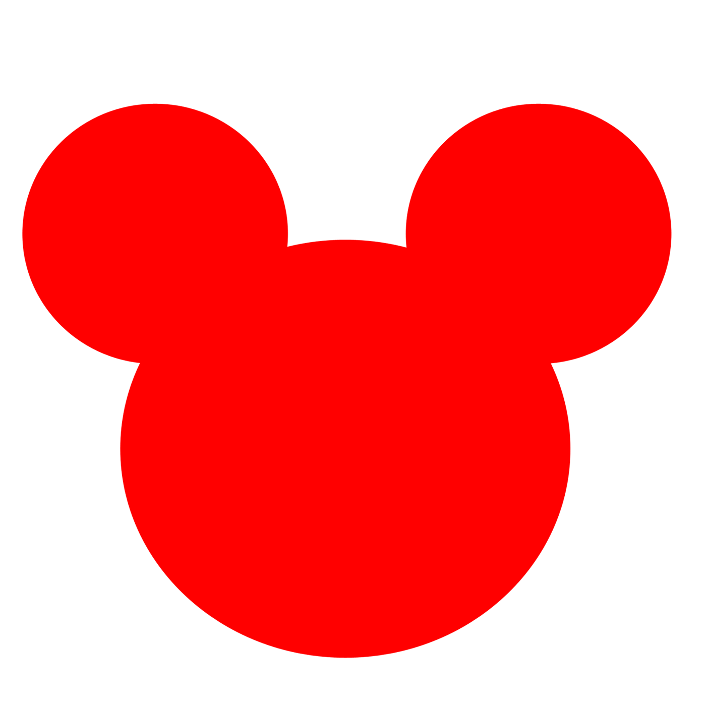 Red Minnie Mouse Bow Clip Art