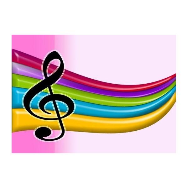 Pin Pin Pink Music Notes Wallpaper On Pinterest on Pinterest