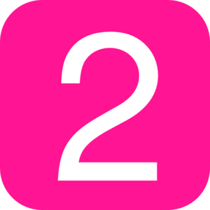 pink%20number%20two%20clipart