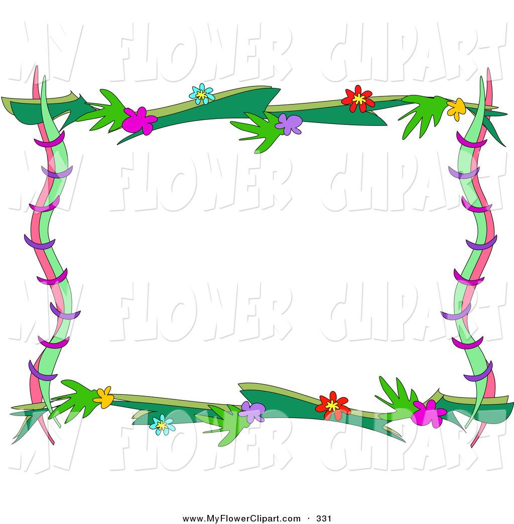 Flower Border Clipart Clipart Panda Free Clipart Images