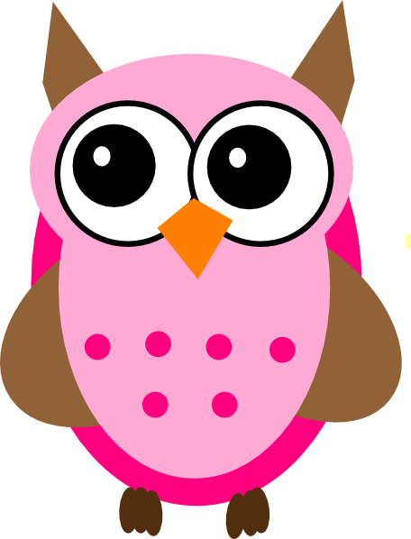 pink baby owl clipart clipart panda free clipart images rh clipartpanda com pink and grey owl clip art pink and purple owl clip art