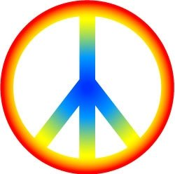 Pink Peace Sign Clipart | Clipart Panda - Free Clipart Images