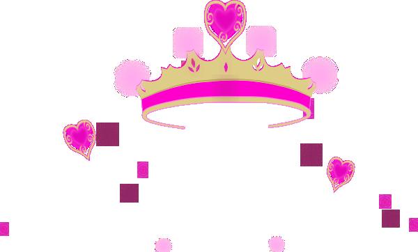 Pink Princess Crowns Logo | Clipart Panda - Free Clipart Images