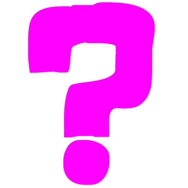 Pink Question Mark Clipart   Clipart Panda - Free Clipart ...