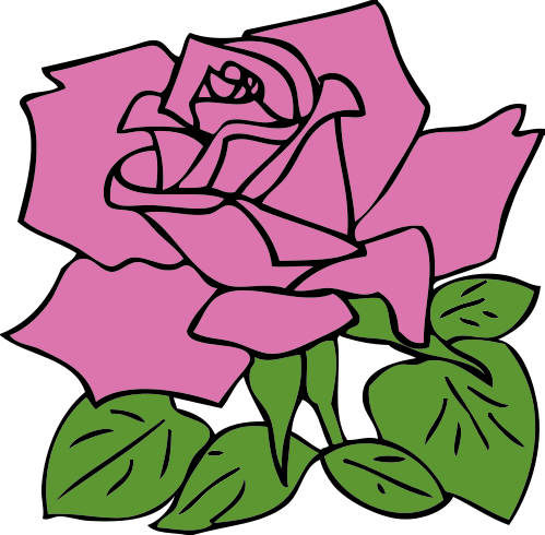 Pink Rose Clip Art Border | Clipart Panda - Free Clipart Images