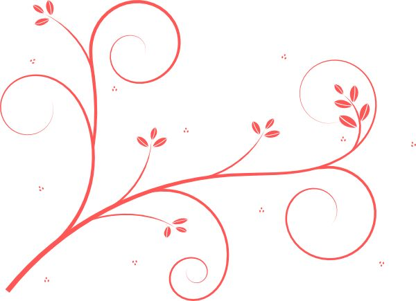 Pink Swirls Clipart | Clipart Panda - Free Clipart Images