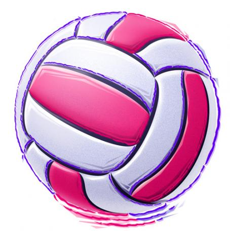 Pink Volleyball Clip Art | Clipart Panda - Free Clipart Images