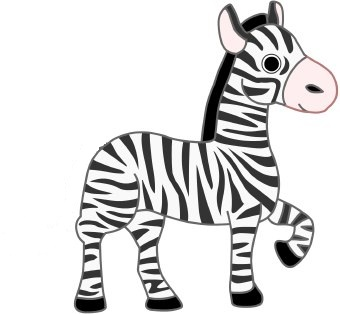 cute zebra clipart clipart panda free clipart images rh clipartpanda com cute baby zebra clipart cute zebra clipart black and white