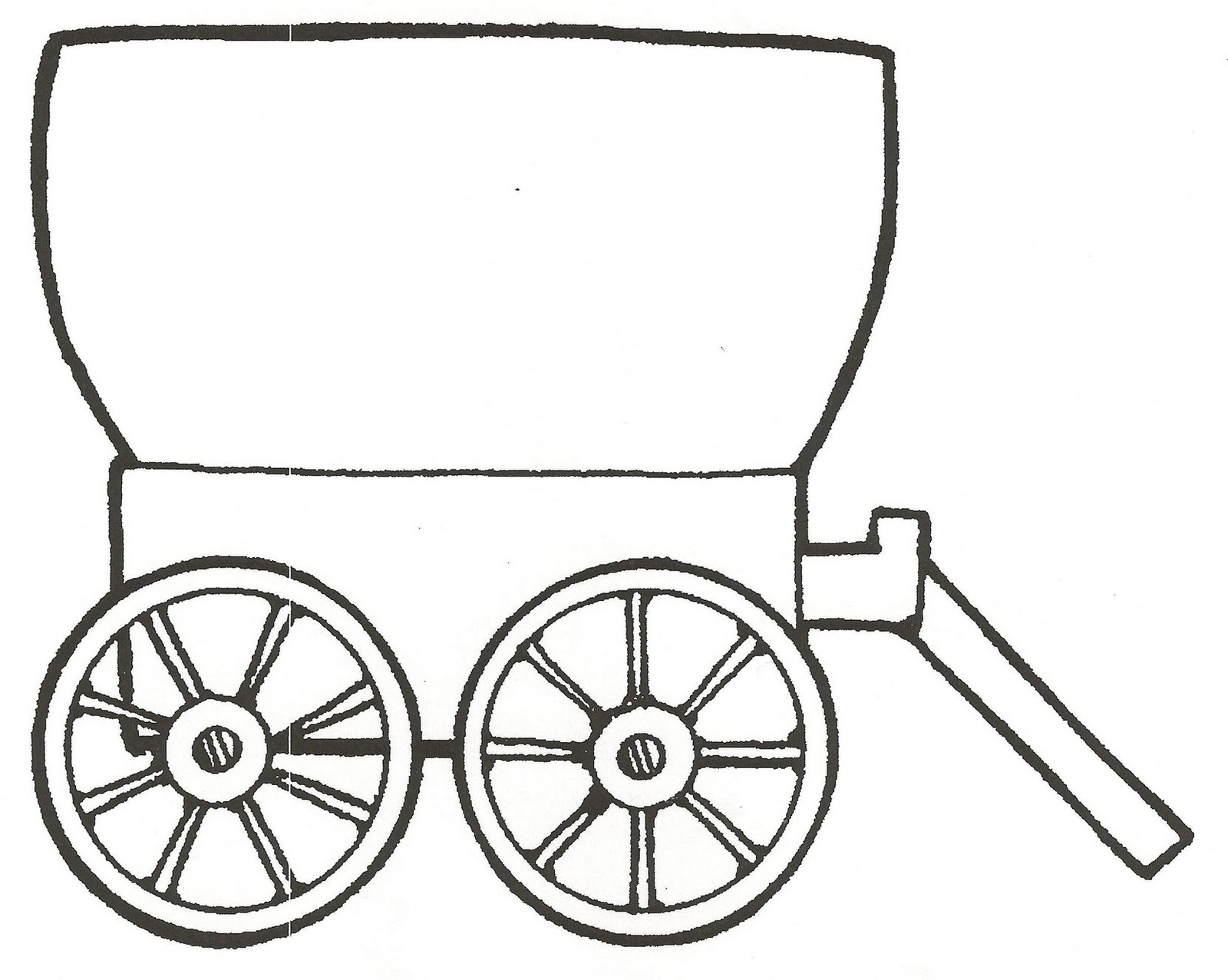 Covered wagon clip art | Clipart Panda - Free Clipart Images