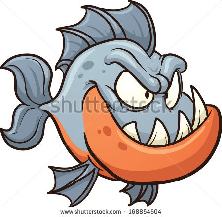 Piranha Clipart | Clipart Panda - Free Clipart Images
