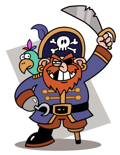 Image result for pirate clipart