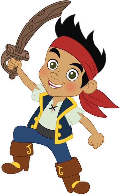 never land pirates clipart