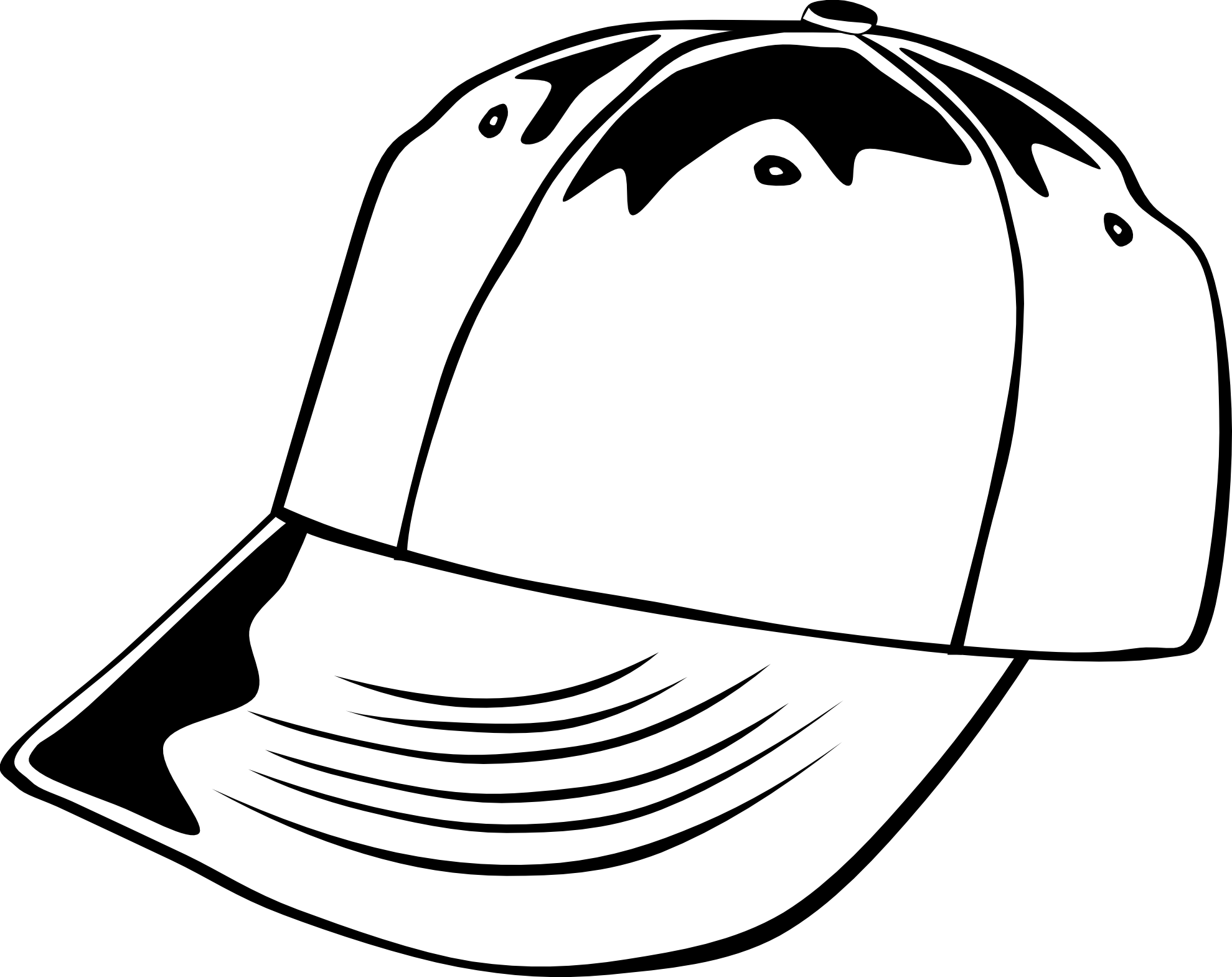 Pirate hat clipart black and white clipart panda free for Pirate hat coloring page