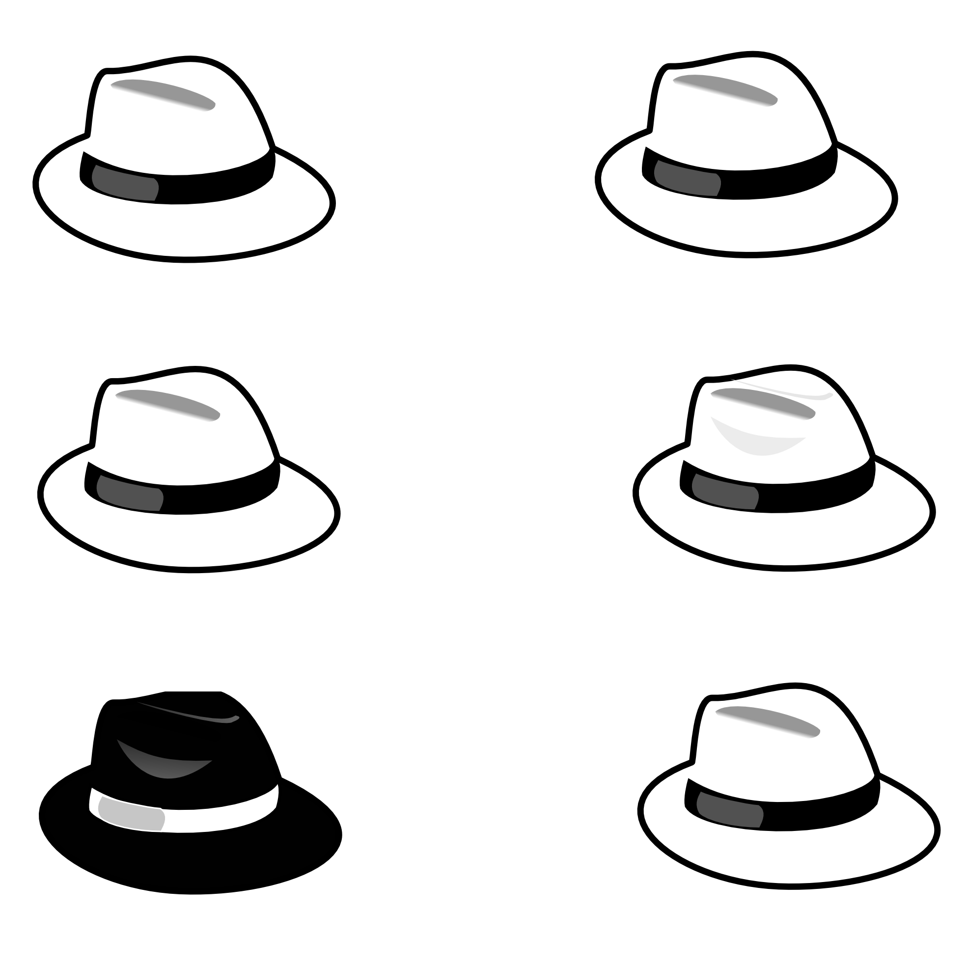 Pirate hat clipart black and white - photo#19